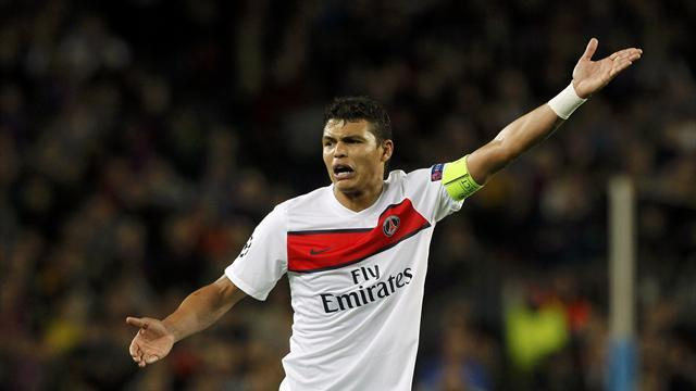Ligue 1 - Thiago Silva fractures cheekbone but should be fit for Chelsea