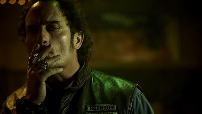 """Kim Coates as Alex """"Tig"""" Trager in """"Sons Of Anarchy."""""""