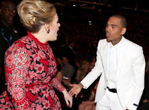 Adele: I Didn't Angrily Confront Chris Brown at Grammys 2013