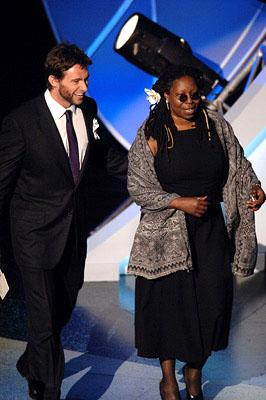 Hugh Jackman and Whoopi Goldberg Emmy Awards - 9/18/2005