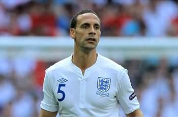 Rio Ferdinand retires from international football