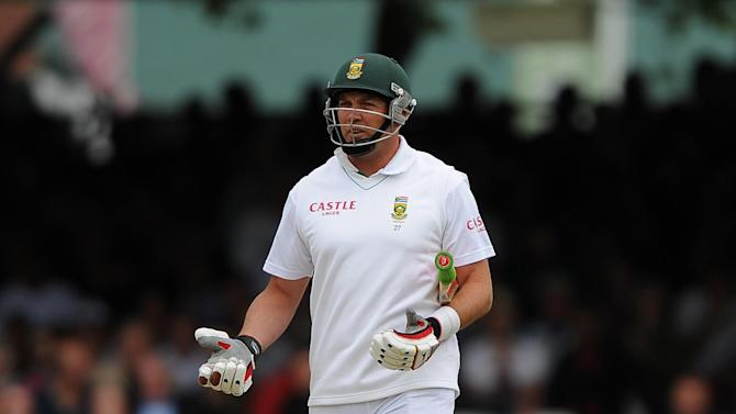 Jaques Kallis provided some resistance for South Africa