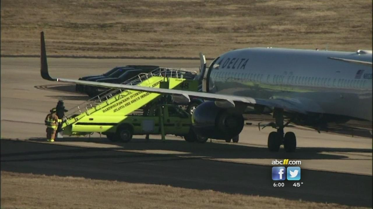 FBI: No bombs found on planes in Atlanta after threat
