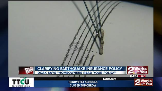 Clarifying Earthquake Insurance Policy