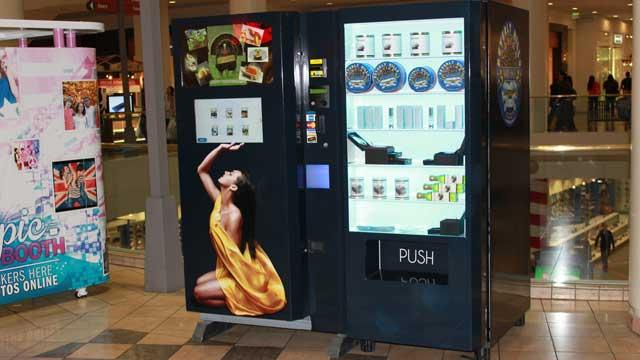 Caviar Vending Machines Unveiled at California Malls