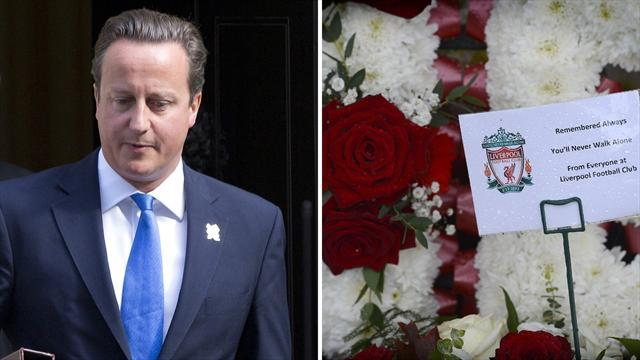 Cameron apologises for Hillsborough tragedy
