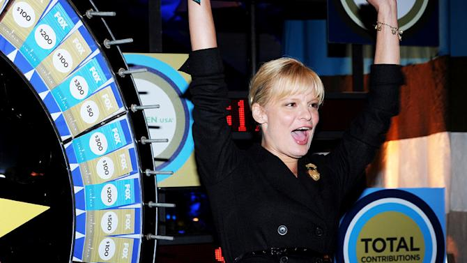 """Martha Plimpton of """"Raising Hope"""" celebrates at the 2010 Fox Fall Eco-Casino party on September 13, 2010, at Boa in West Hollywood."""
