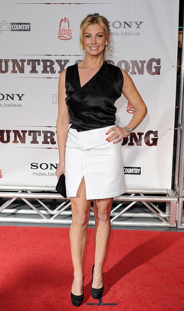 Country Strong Nashville Premiere 2010 Faith Hill
