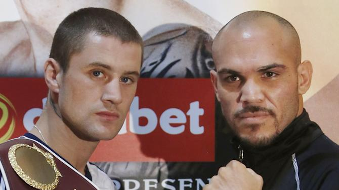 Boxing - WBO Lightweight Championship - Ricky Burns v Raymundo Beltran - Press Conference - Marriott Hotel