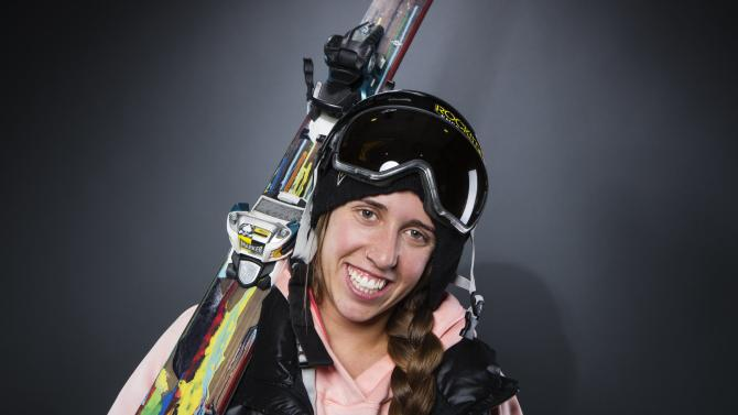 Olympic freestyle skier Maddie Bowman poses for a portrait during the 2013 U.S. Olympic Team Media Summit in Park City, Utah