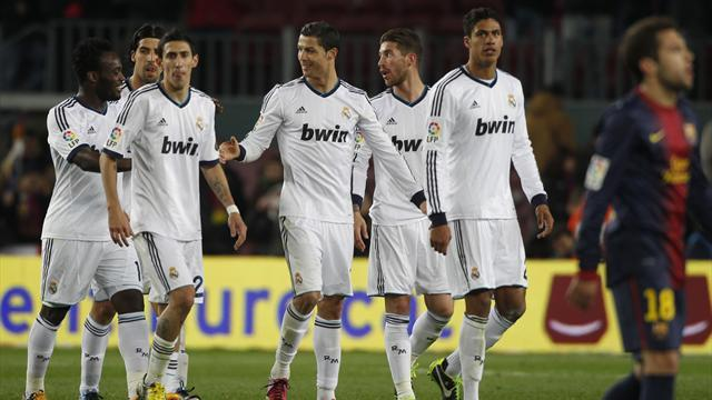 Liga - Madrid find template for United trip
