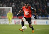 Rennes' midfielder Yann M'vila controls the ball on January 16, 2013 in Rennes, western France. The French Football Federation have agreed to reduce the suspension imposed on M'Vila for his involvement in an unauthorised night out while on duty with the France under-21 squad