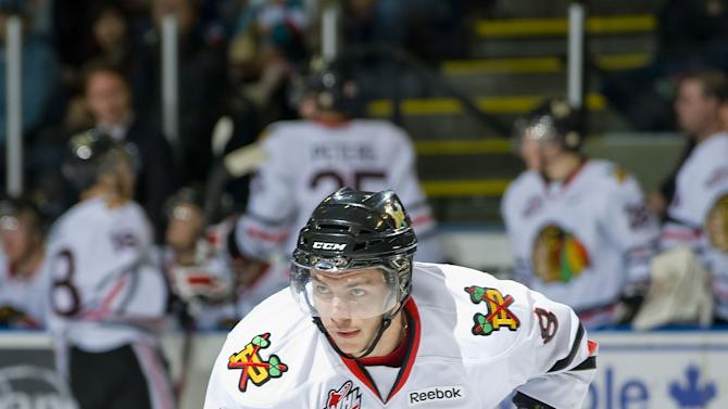 Ty Rattie of the Portland Winterhawks