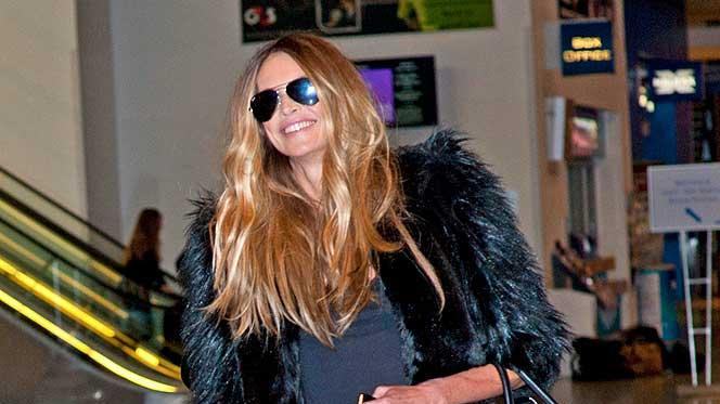 Elle Mac Pherson Glasgow Airport