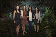 Madchen Amick, Rachel Boston, Julia Ormond and Jenna Dewan Tatum in 'Witches of East End' -- Lifetime
