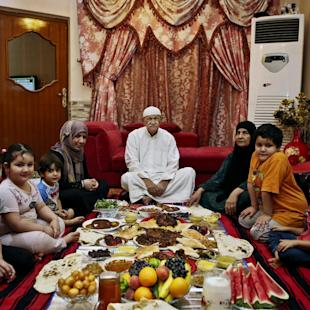 As Ramadan fast ends, the feasts begin