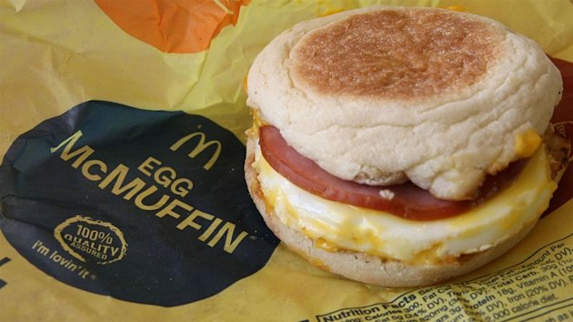 Want an Egg McMuffin for lunch? If a pilot program being tested at McDonald's works out, that may become an option. WSJ's Ilan Brat explains on MoneyBeat. Photo: Getty (Originally published March 31, 2015)