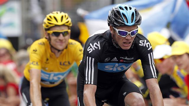 Tour de France - Wiggins almost quit 2012 Tour after Froome attack
