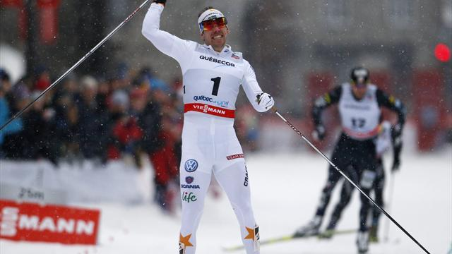 Cross-Country Skiing - Joensson gets off the mark with victory in Quebec