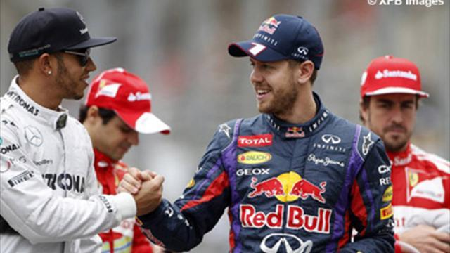 Formula 1 - Vettel hopes 2014 rules don't split pack