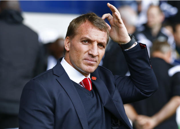 Football: Football - West Bromwich Albion v Liverpool - Barclays Premier League - The Hawthorns - 25/4/15 Liverpool manager Brendan Rodgers before the game Reuters / Darren Staples Livepic EDITORIAL U