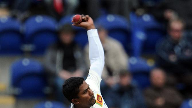 Rangana Herath finished with figures of six for 103 for Sri Lanka