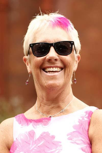 SYDNEY, AUSTRALIA - JANUARY 05:  A fan has dyed pink hair during day three of the Second Test Match between Australia and India at Sydney Cricket Ground on January 5, 2012 in Sydney, Australia.  (Phot