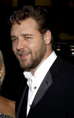 Russell Crowe at the LA premiere of 20th Century Fox's Master and Commander: The Far Side of the World
