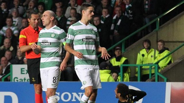 Scottish Football - Lennon continues defence of Brown