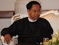Myint Swe, pictured in April 2012, has been nominated to be vice president of Myanmar. Myanmar lawmakers are scrutinising the qualifications of a retired general nominated to become vice president, officials said Wednesday, amid uncertainty about whether he meets the rules