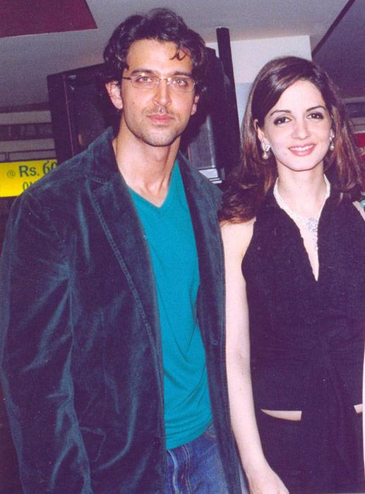 Hrithik, Sussanne and their moments together