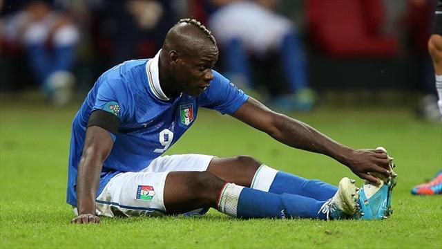 Football - Balotelli to miss semi-final