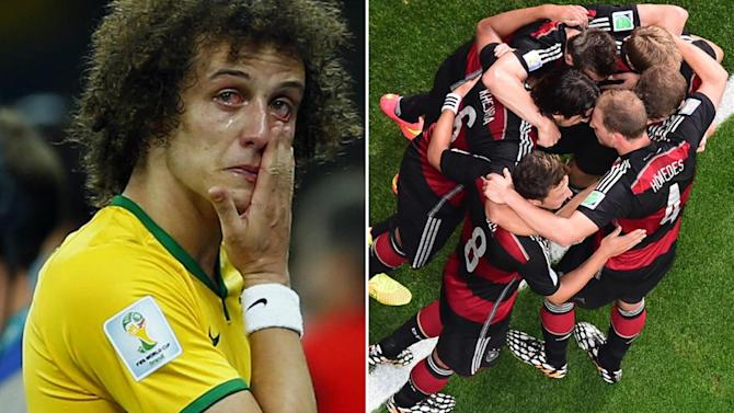 World Cup - Germany tear Brazil to pieces in unforgettable semi-final