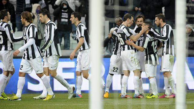 Italian Serie A - Juventus beat Siena to go seven points clear