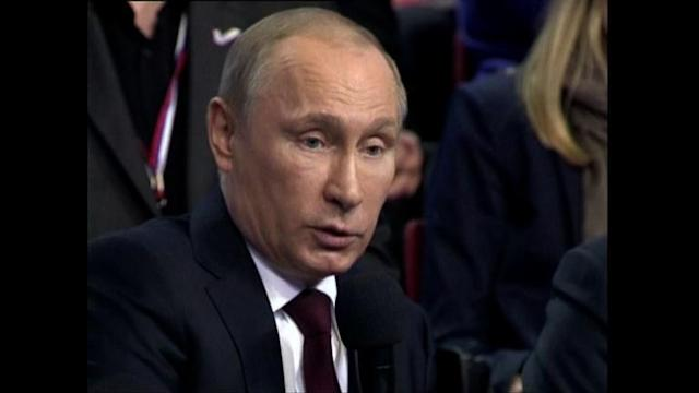 Putin warns Kiev against using force in east Ukraine