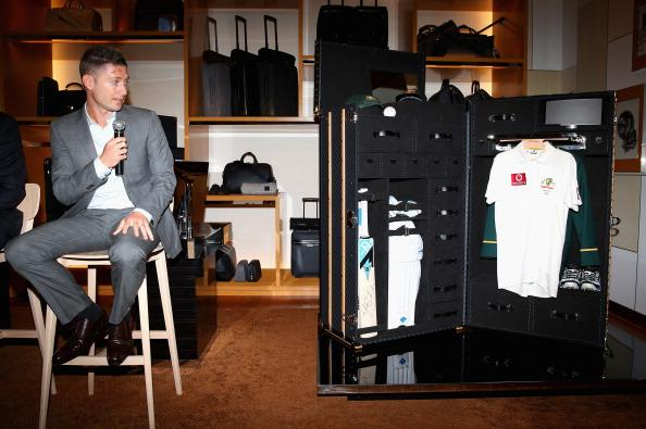 Louis Vuitton Unveils Michael Clarke Cricket Trunk