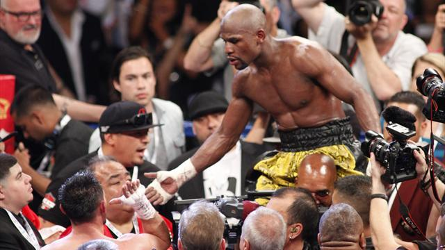 Boxing - Mayweather a class above Guerrero
