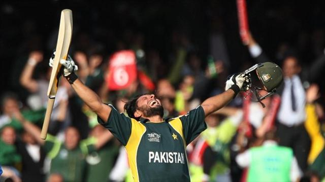 Cricket - Afridi steers Pakistan to victory