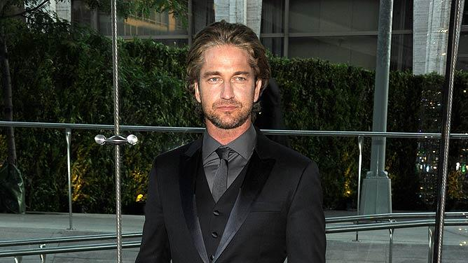 Gerard Butler CFDA Awards