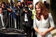 Catherine, the Duchess of Cambridge leaves Hospis Malaysia in Kuala Lumpur on September 13. Catherine made her first public comments on foreign soil Thursday as the royal couple visited the Malaysian hospice during their Asia-Pacific tour