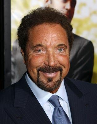 Tom Jones at the LA premiere of Universal's Intolerable Cruelty