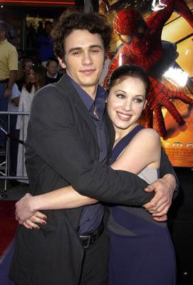 James Franco and Marla Sokoloff at the LA premiere of Columbia Pictures' Spider-Man