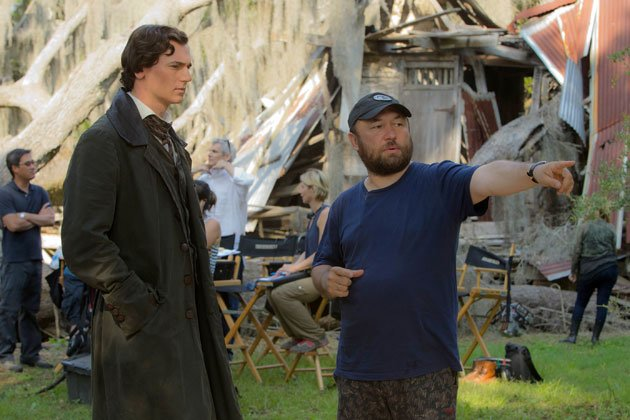 Walker with director Timur Bekmambetov. (Photo courtesy of 20th Century Fox)