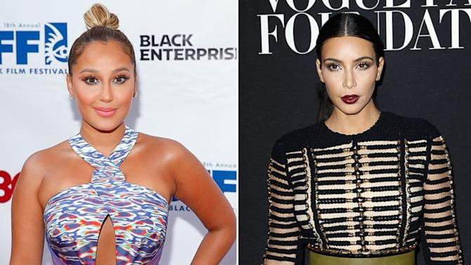 Adrienne Bailon Fires Back After Kim Kardashian Diss