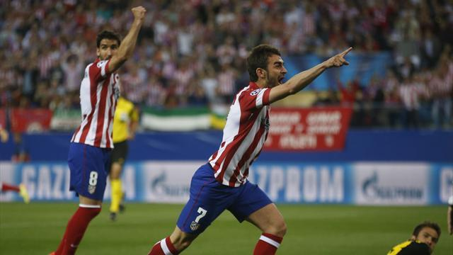 Champions League - Koke scores as Atletico stun Liga rivals Barca