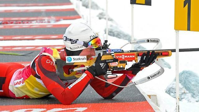 Biathlon - Berger helps Norway win Ruhpolding relay