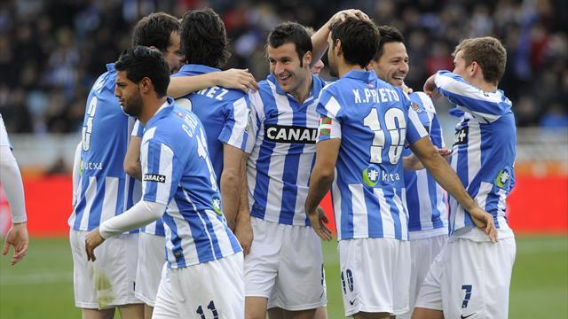 Liga - Celta Vigo complete escape, Real Sociedad snatch fourth
