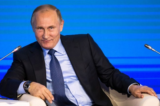 Russia's Putin says Trump behaves extravagantly to get message across
