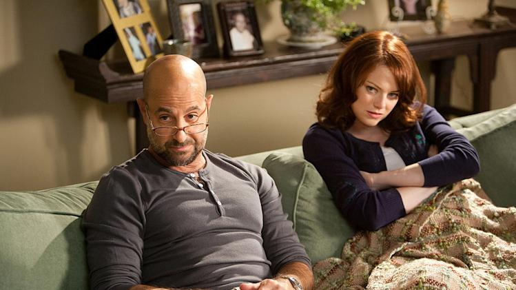 Easy A Screen Gems 2010 Stanley Tucci Emma Stone