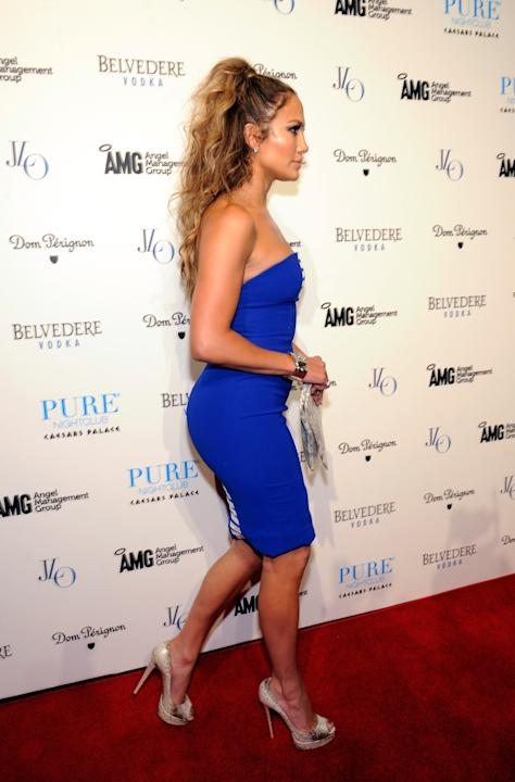 Jennifer Lopez Celebrates Her World Tour With Post Party Event At Pure Nightclub At Caesars Palace